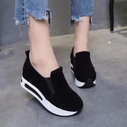 giày bata đế độn nữ cực đẹp