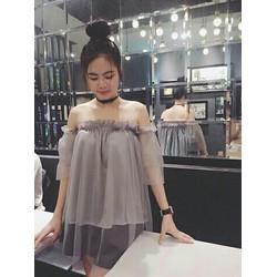 Áo voan nữ thời trang