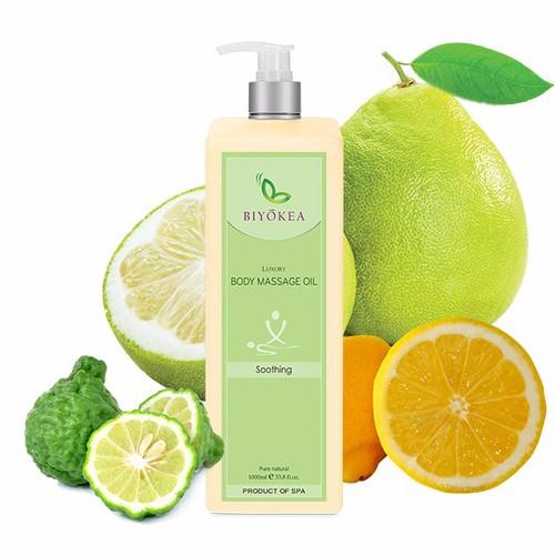 Dầu Massage Body Luxury - Soothing Oil - làm dịu, giảm stress