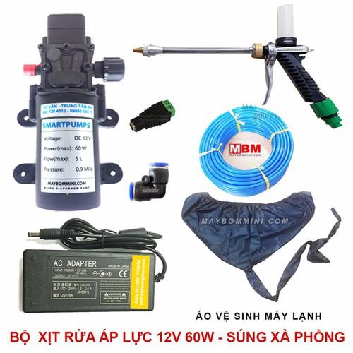 Bộ xịt rửa xe vệ sinh máy lạnh 12V 60W súng xịt xà phòng - 5089043 , 7311097 , 15_7311097 , 1299000 , Bo-xit-rua-xe-ve-sinh-may-lanh-12V-60W-sung-xit-xa-phong-15_7311097 , sendo.vn , Bộ xịt rửa xe vệ sinh máy lạnh 12V 60W súng xịt xà phòng