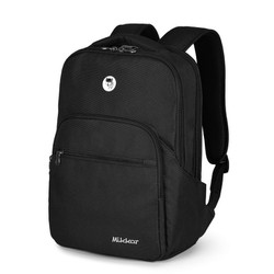 Balo laptop Mikkor The Maddox Backpack Black
