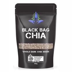 Hạt Chia Úc Black Bag Chia 500gr - Dinh dưỡng tốt cho mọi nhà