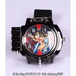 Bộ Đồng hồ Conan - Màu Đen + 2 Pin Thay Tặng Kèm Tua Vít