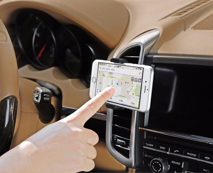Giá đỡ điện thoại gắn khe điều hoà ô tô 4