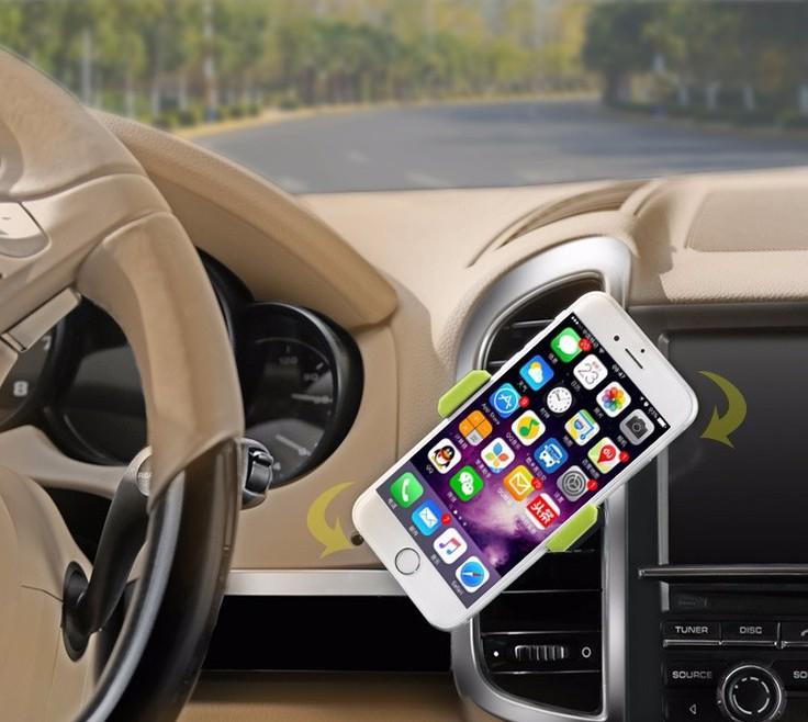 Giá đỡ điện thoại gắn khe điều hoà ô tô 7