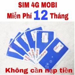 Sim 4G Mobiphone Miễn Phí 12 Tháng