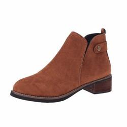 Giày Boot Nữ  Thấp Cổ Thời Trang