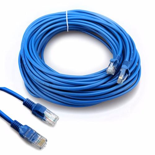 Dây Cáp Mạng Internet Bấm Sẵn 2 Đầu Dài 15M - LAN15m