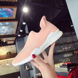 giày thể thao nữ trắng hồng tom nữ cực đẹp
