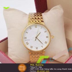 Đồng hồ nam rồng vàng