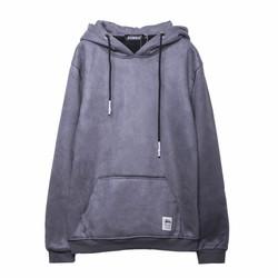 Áo khoác hoodie xám