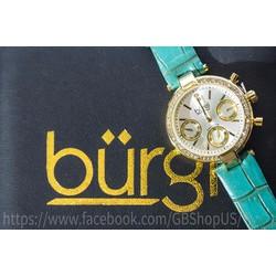 Đồng hồ nữ BURGIDiamond and Crystal