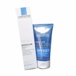 Set kem dưỡng da trị mụn và sữa rửa mặt La Roche Posay Duo+