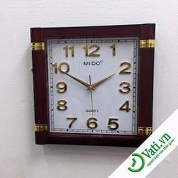 Đồng hồ treo tường mặt vuông đẹp - Làm quà tặng ý nghĩa
