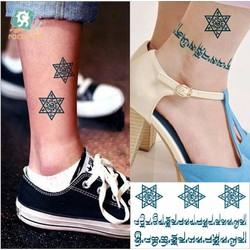 Hình Xăm Dán Tattoo Chữ Cổ Đại