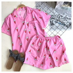 Set bộ pyjama quần đùi