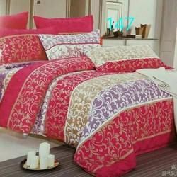Bộ sản phẩm chăn ga gối giường hình hoa văn