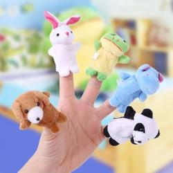 10 rối ngón tay hình con vật ngộ nghĩnh, dễ thương