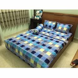 drap giường cotton