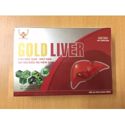 Gold Liver: Giải độc - Mát Gan - Hỗ trợ điều trị Viêm Gan
