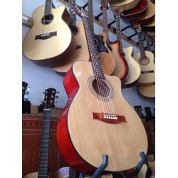 Đàn guitar có ty chống cong cần giá rẻ
