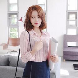 Áo sơ mi nữ Hàn Quốc cao cấp_3866_Có hình thật