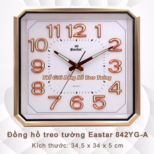 Đồng hồ dạ quang, hình vuông vát góc - máy kim trôi