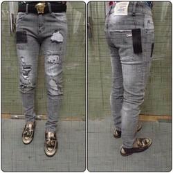 Quần Jeans Nam Rách Thời Trang 211