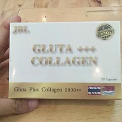 Viên Uống trắng Hồng Da Gluta Plus Collagen 2000++