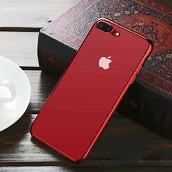 Ốp lưng Iphone 7 plus va 8 Plus dẻo trong viền màu Benks Glitz