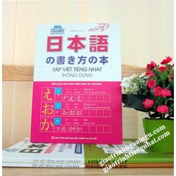 Sách Tập viết tiếng Nhật thông dụng