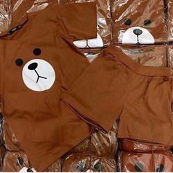 Đồ ngủ bộ hình gấu dễ thương