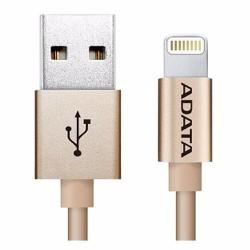 Cáp sạc dành cho iPhone Lightning Aluminum Adata - Vàng Đồng