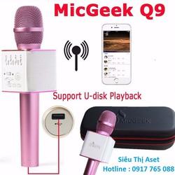 micro karaoke kèm loa bluetooth Q9