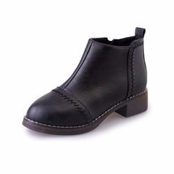 Giày Bốt Thấp Cổ Nữ Thời Trang
