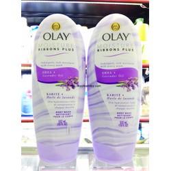 Sữa tắm dưỡng thể Olay Moisture Ribbons Plus SHEA LAVENDER OIL 532 ml