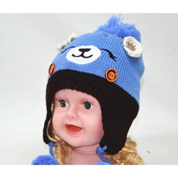 mũ len cho bé gấu pooh