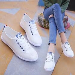 Giày mọi nữ cột dây cá tính