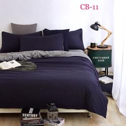 Bộ chăn ga gối đơn sắc phong cách châu Âu- CB-11