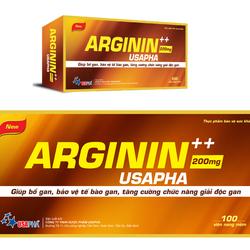ARGININ USAPHA - Bổ gan, bảo vệ tế bào gan, tăng cường chức năng gan
