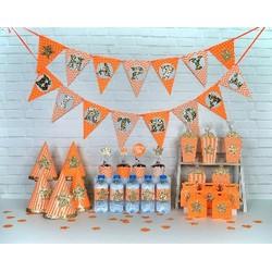 set trang trí sinh nhật kim tuyến