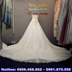 áo cưới cúp ngực đuôi dài miên man AC451
