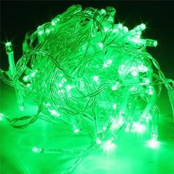 Đèn led dây chớp trang trí - Ánh sáng xanh lá