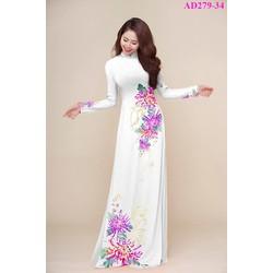 Vải áo dài Ngọc Trinh