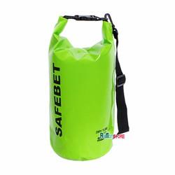 Túi khô chống nước đi biển Waterproof SAFEBET Chính hãng 20L_Xanh lá
