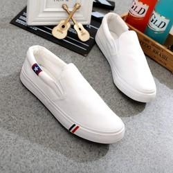 Giày Slip On Vải Nam Nữ Mã T17
