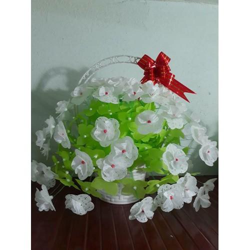 10 bộ nguyên liệu làm hoa lụa cuc