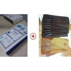 Combo quà tặng ý nghĩa - mặt nạ chăm sóc da Hàn Quốc và ví sen 3