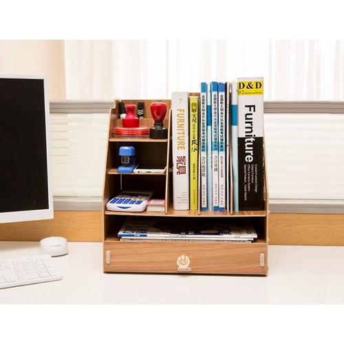 Kệ sách gỗ mini để bàn làm việc - 10525680 , 8109783 , 15_8109783 , 400000 , Ke-sach-go-mini-de-ban-lam-viec-15_8109783 , sendo.vn , Kệ sách gỗ mini để bàn làm việc