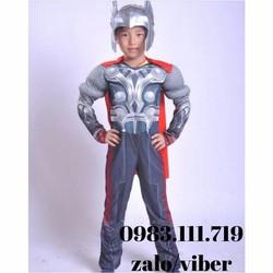 Trang phục hóa trang siêu anh hùng cơ bắp Thần Sấm Thor
